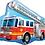 Thumbnail: Large Fire Engine Foil Balloon
