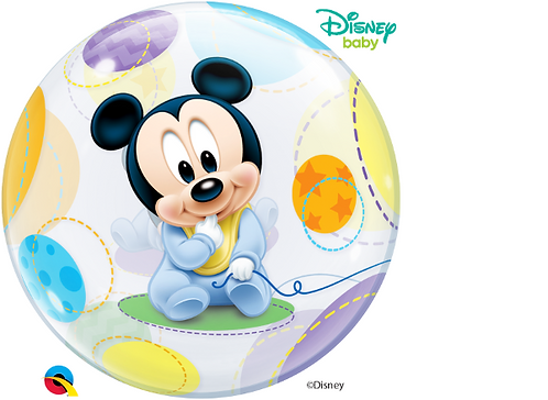 Baby Mickey Mouse Bubble Balloon
