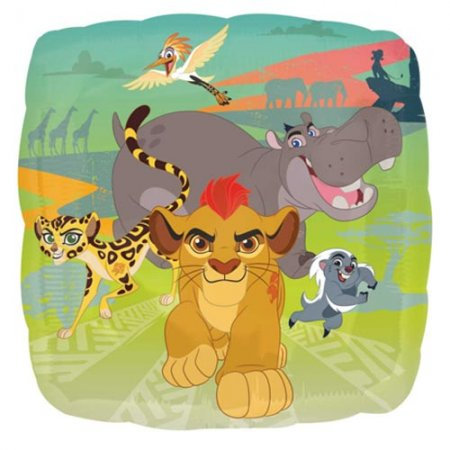 """Lion Guard 18"""" Foil With 2 Latex To Match"""