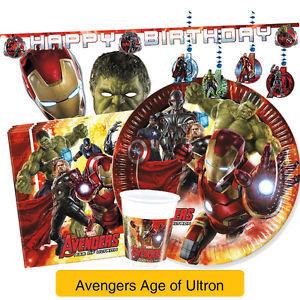 Avengers Tableware
