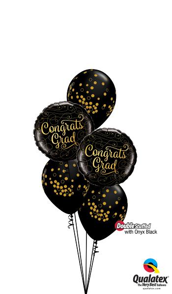 Congratulations Foil & Latex Balloon