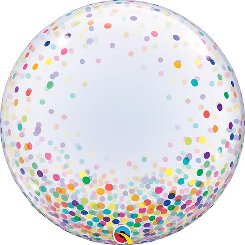 """24"""" Multi Coloured Confetti Design"""