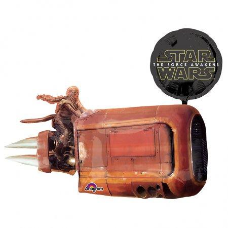 """Starwars Landspeeder 35"""" Foil"""
