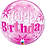 Thumbnail: Pink Bubble Balloon Age 18 - 60 Open Birthday