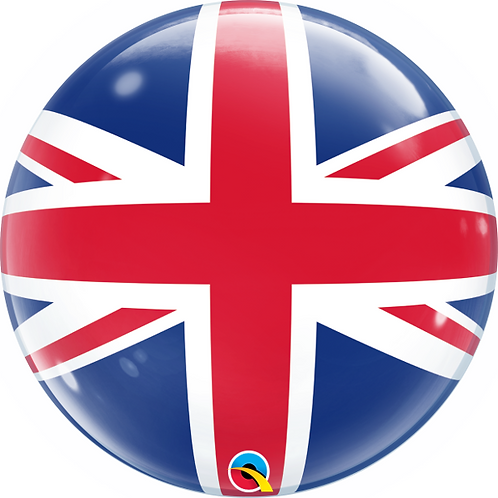 UK Flag Bubble Balloon