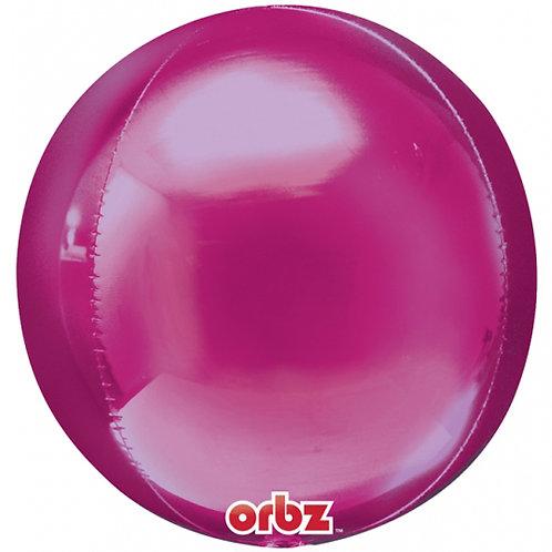 Hot Pink Orbz Balloon