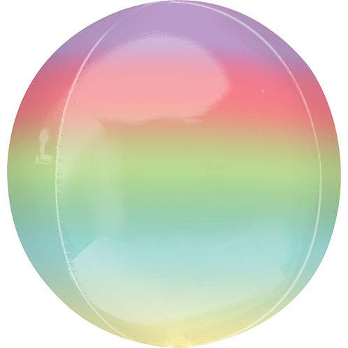 Multi Coloured Ombre Orbz Balloon
