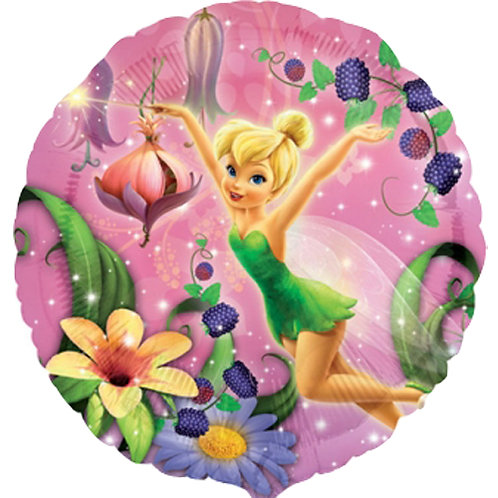 "Tinkerbell 18"" Foil With 2 Latex To Match"