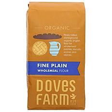 Plain Wholemeal Organic Flour 1KG