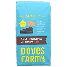 Wholemeal Self Raising Organic Flour