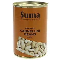 Suma Organic Canellinni Beans 400g
