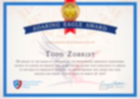 Todd Zobrist EMT illinois ems award