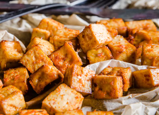 Хрустящий маринованный тофу