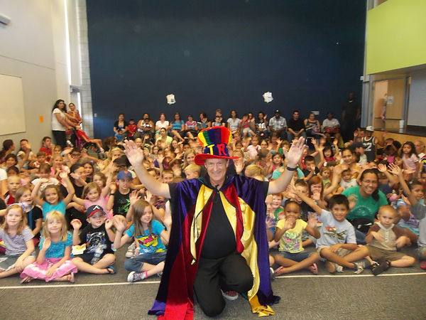Phoenix Arizona Magician School Assemblies