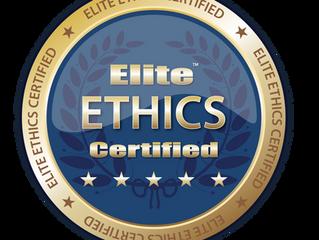 ANY BODY'S GARAGE - Elite Ethics Certification
