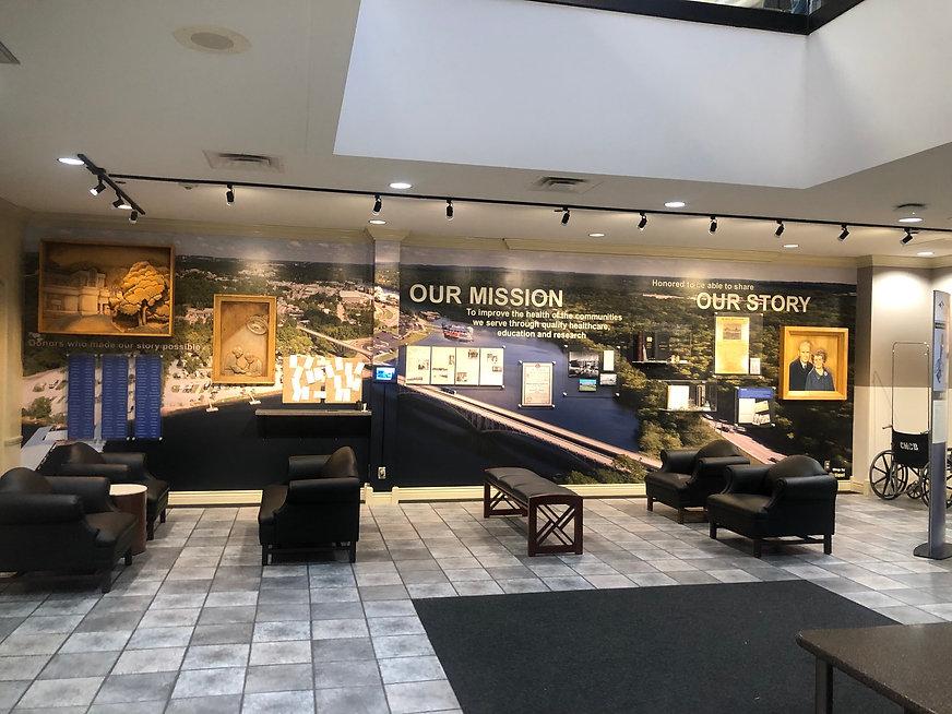 Cox hospital 3D wall museum.jpg