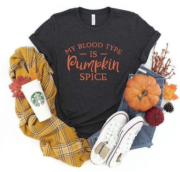 My Blood Type is Pumpkin Spice