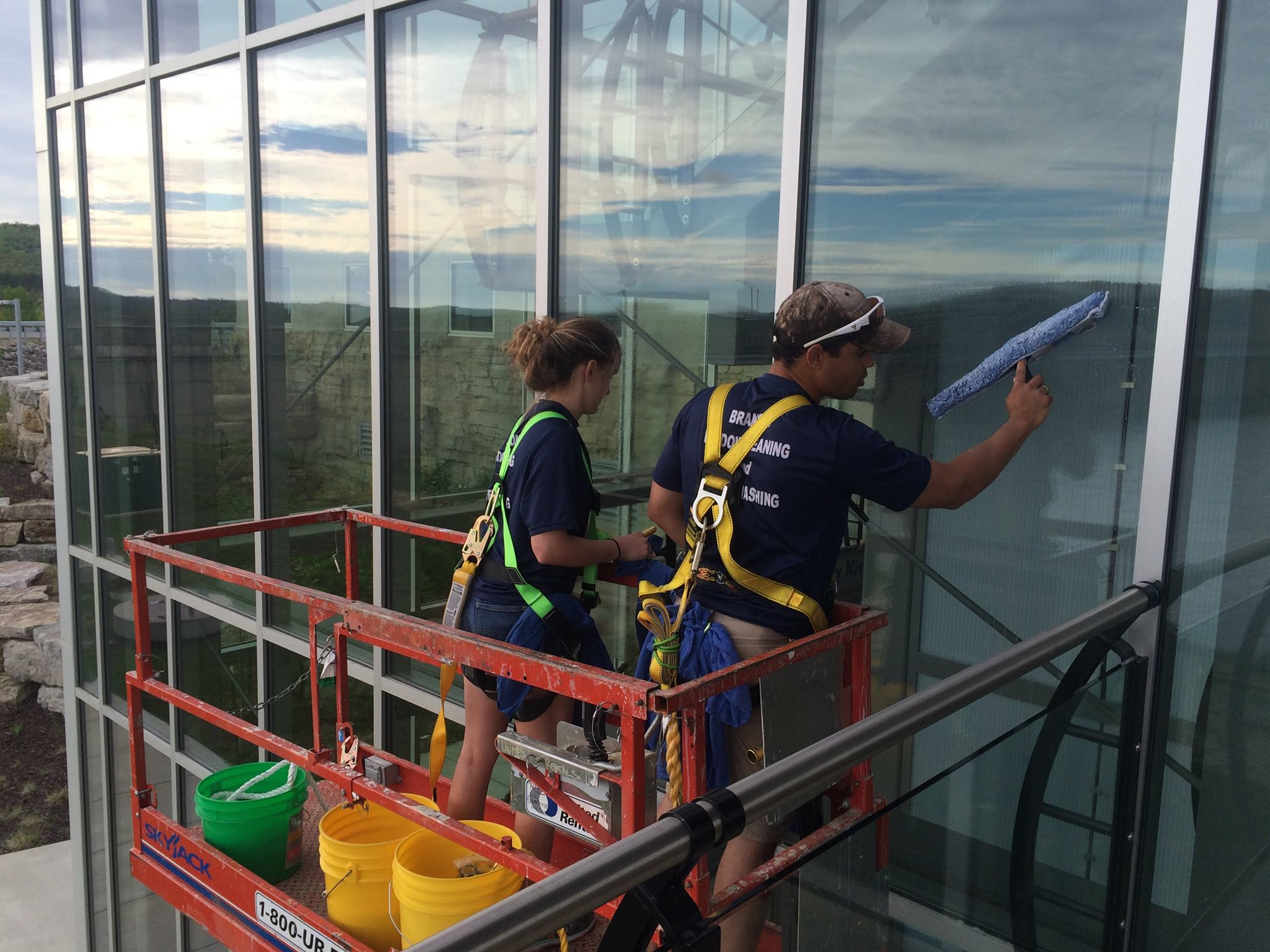 Deck Power Washing Services