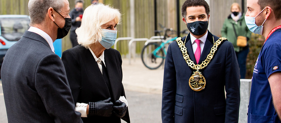 Her Royal Highness Camilla, Duchess of Cornwall visits as we deliver 50,000 vaccines