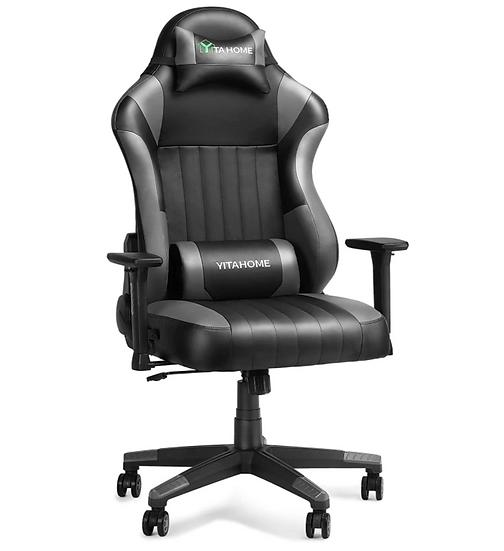 YITAHOME Racing Style Ergonomic Big & Tall Gaming Chair (Black)