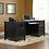 Thumbnail: Sauder Edge Water Executive Desk (Estate Black Finish)