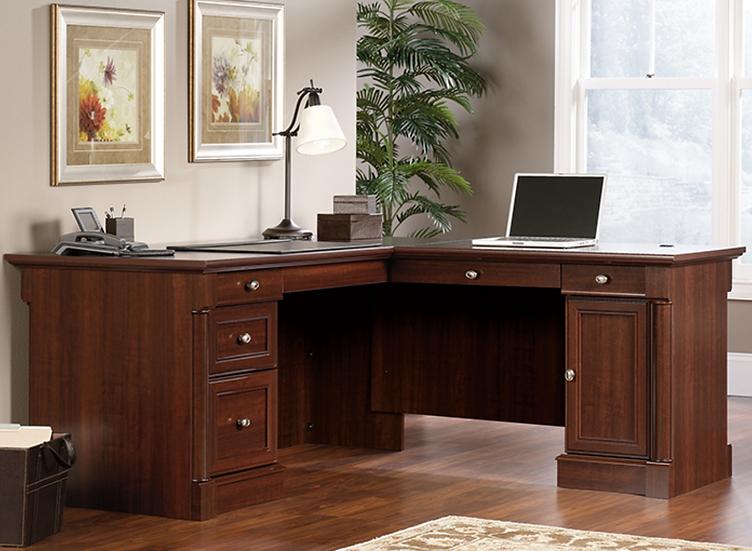 Sauder: Palladia L-Shaped Desk
