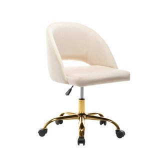 Perales Task Chair White