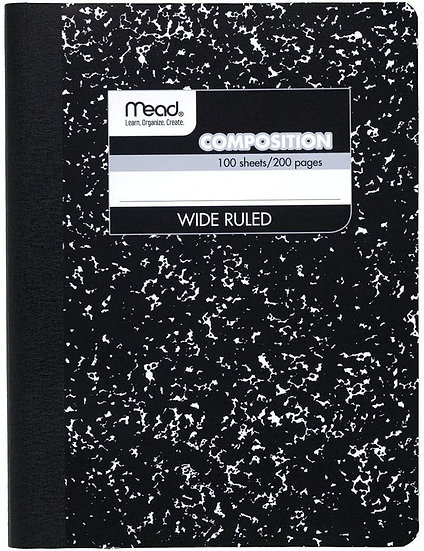 Mead Composition, Wide Ruled