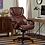 Thumbnail: Serta Big & Tall Bonded Leather Executive Chair (Chestnut Brown)