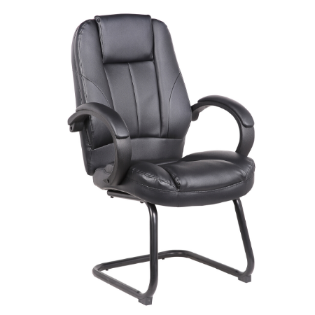 VERONA  VISITOR LEATHER CHAIR