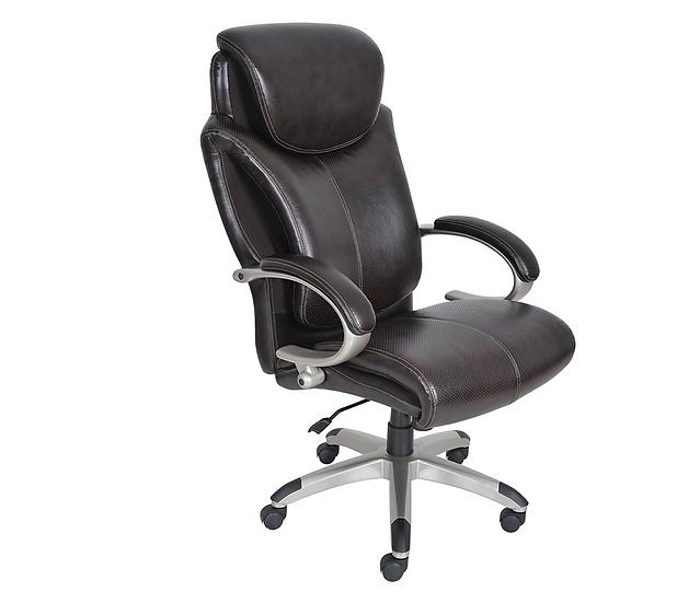 Serta Health & Wellness Leather Office Chair