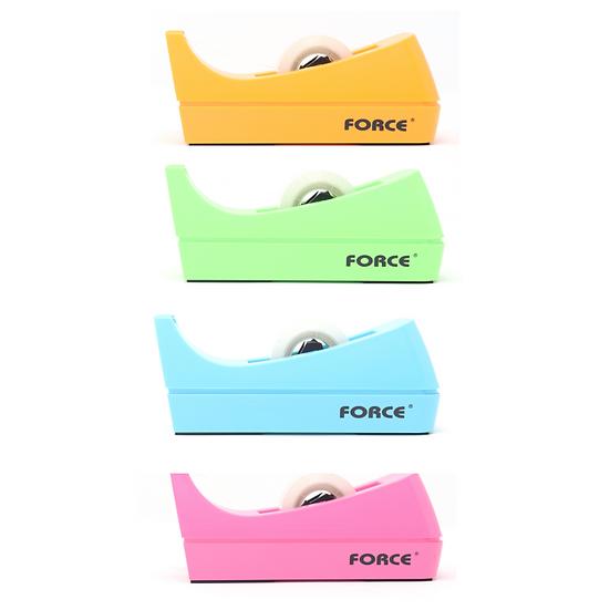 Force Desk Neon-Coloured Tape Dispenser