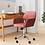Thumbnail: Elliana Velvet Task Chair - Pink