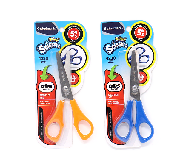 "Studmark 5"" School Scissors with Abs Handle"