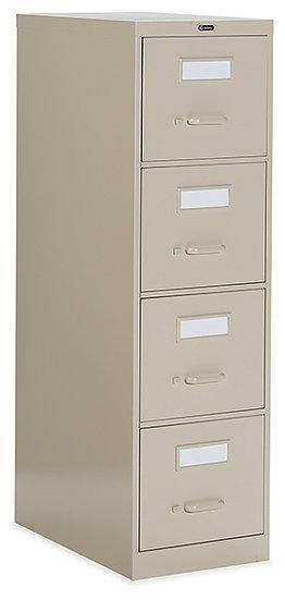 Global 4 Drawer Vertical Filing Cabinet