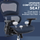 Thumbnail: Rimiking Mesh Ergonomic High Back Mesh Chair with 3D Adjustable Arms (Blue)