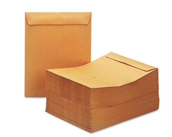 """10"""" X 13"""" Envelopes (Pack of 25)"""