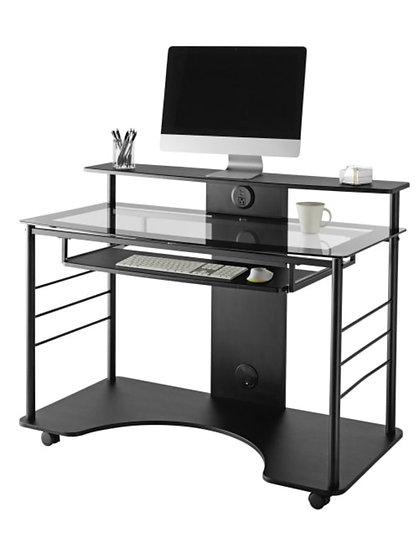 "Realspace 47""W Mobile Tech Desk"