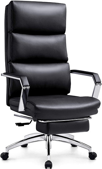 Ticova Reclining Eexcutive Chair with Ergonomic Segmented Back and Thick Padding