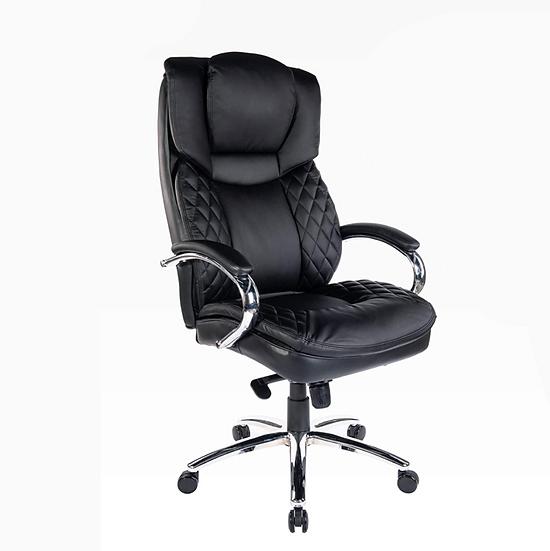 Halter Trendy Executive Big & Tall Office Chair (Black)