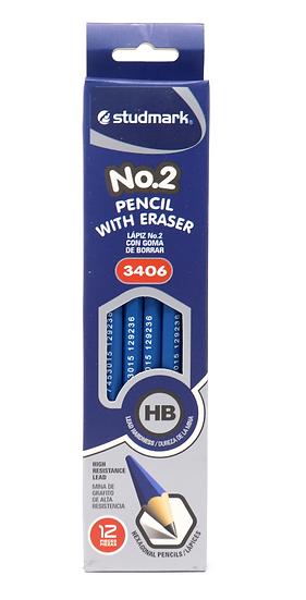 Studmark #2 Blue Pencil
