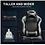 Thumbnail: YITAHOME Racing Style Ergonomic Big & Tall Gaming Chair (Black)