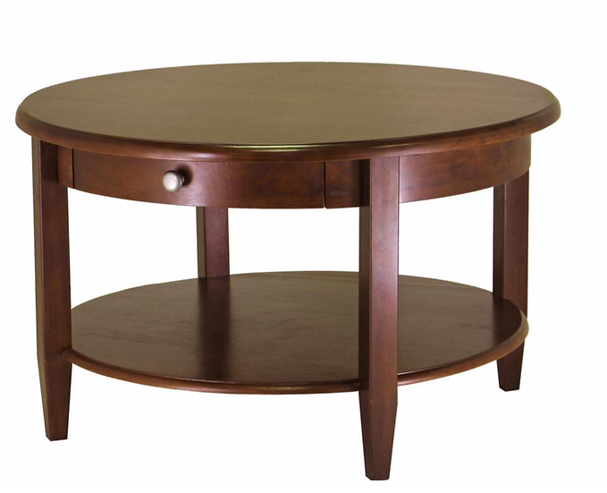 Winsome Wood Concord Walnut Coffee Table