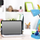 Thumbnail: Limelight Gooseneck Desk Lamp with Organizer (Blue)
