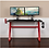 Thumbnail: Flash Gaming Desk with Cup Holder and Headphone Hook (Red & Black)