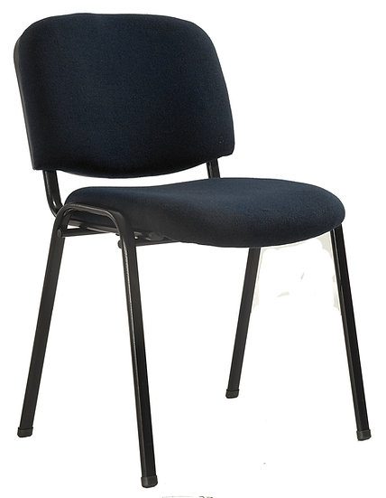 SIT Stackable Visitor's Chair (Black)