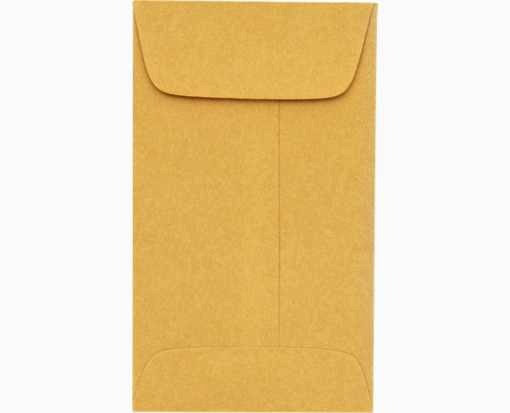 """2 3/8"""" x 3 3/8"""" Goldenkraft Envelopes (Pack of 25)"""