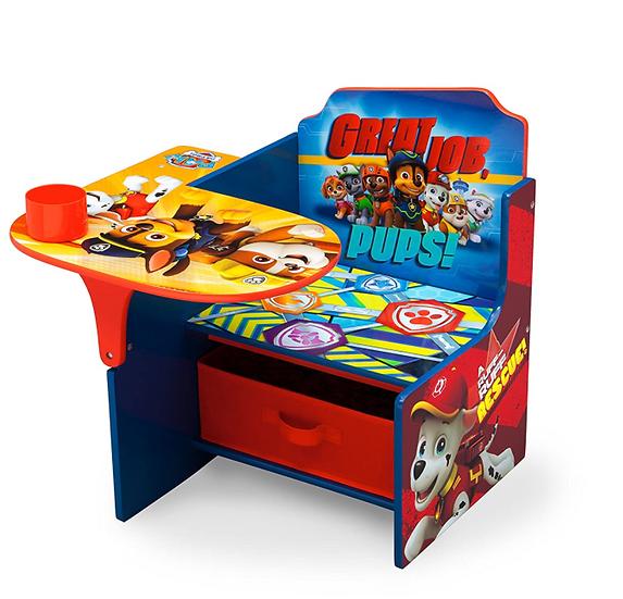 Delta Children's Chair & Desk Combo w/ Storage Bin (Paw Patrol)