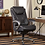 Thumbnail: Serta Big & Tall Exec High Back Bonded Leather Chair with Layered Body Pillows