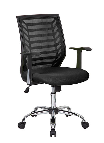 SIT Mesh Back Manager's Chair (Black)